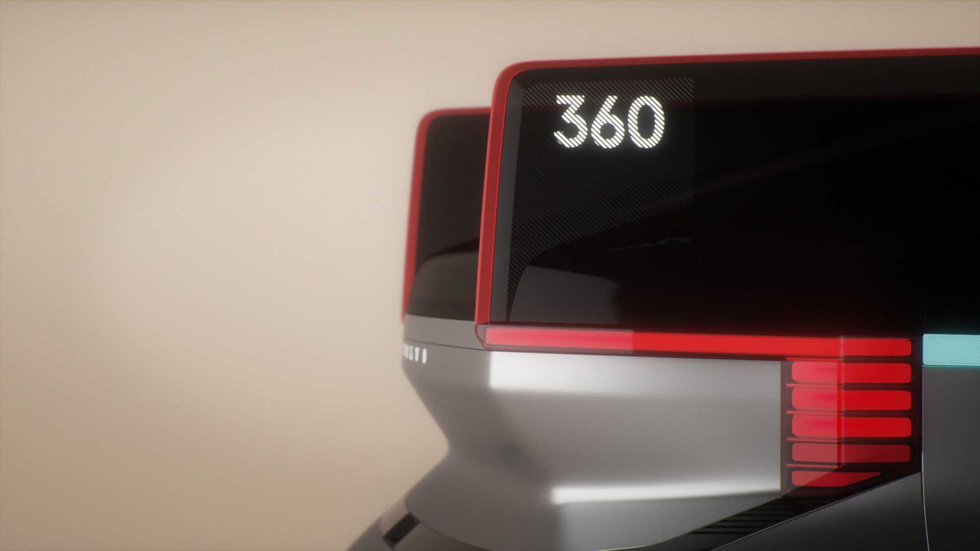Volvo 360c Animation