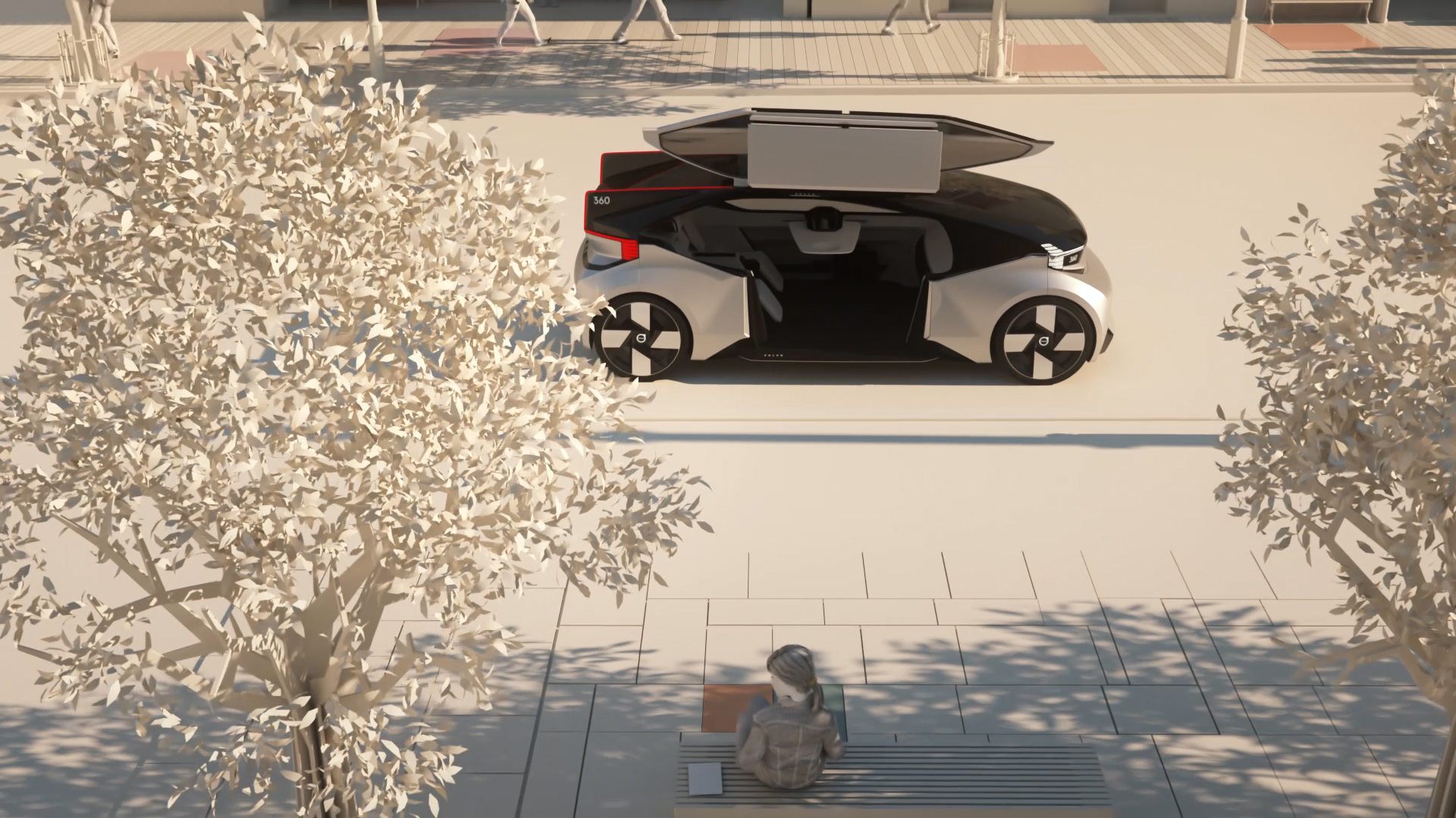 Animation Volvo Cars 360c