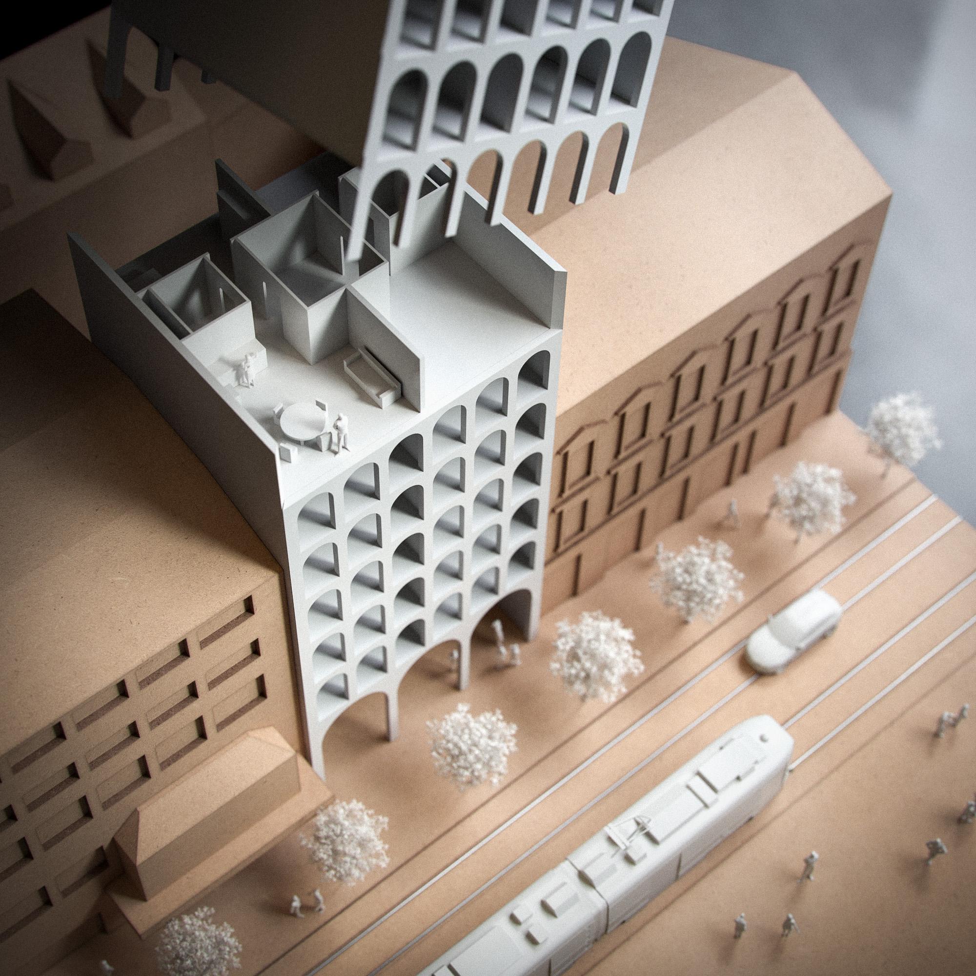 Architectural Model MDF